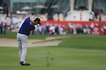 Martin Kaymer plays his 2nd shot on the 9th hole during Day 2 Friday of the Abu Dhabi HSBC Golf Championship, 21st January 2011..(Picture Eoin Clarke/www.golffile.ie)
