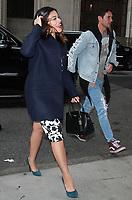 NEW YORK, NY - NOVEMBER 6: Gina Rodriguez seen in New York City on November 6, 2017. <br /> CAP/MPI/RW<br /> &copy;RW/MPI/Capital Pictures