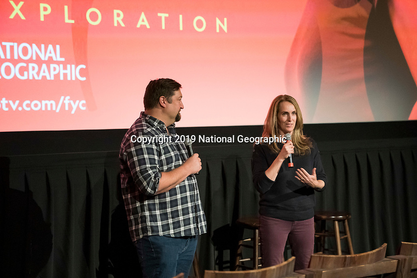 """NEW YORK - MAY 23: Brian Peterson and Kelly Souders attends an FYC event for National Geographic's """"The Hot Zone"""" at Metrograph on May 23, 2019 in New York City. (Photo by Ben Hider/National Geographic/PictureGroup)"""