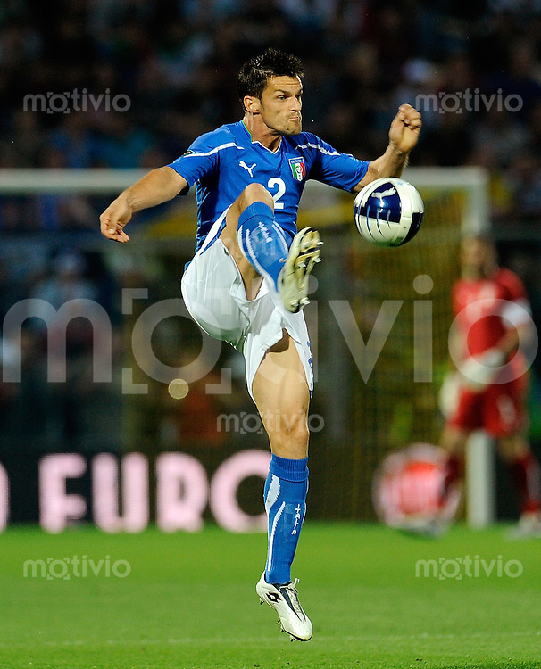 FUSSBALL INTERNATIONAL  EM 2012-Qualifikation  Gruppe C  03.06.2011 Italien - Estland Christian Maggio (Italien)