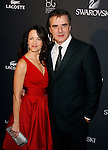 BEVERLY HILLS, CA. - February 17: Actress Kristin Davis and Actor Chris Noth arrive at the 11th Annual Costume Designers Guild Awards at the Four Seasons Beverly Wilshire Hotel on February 17, 2009 in Beverly Hills, California.