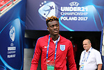 England's Tammy Abraham during the UEFA Under 21 Semi Final at the Stadion Miejski Tychy in Tychy. Picture date 27th June 2017. Picture credit should read: David Klein/Sportimage