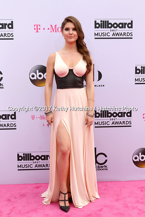 LAS VEGAS - MAY 21:  Amanda Cerny at the 2017 Billboard Music Awards - Arrivals at the T-Mobile Arena on May 21, 2017 in Las Vegas, NV