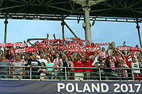 Poland fans before England Under-21 vs Poland Under-21, UEFA European Under-21 Championship Football at The Kolporter Arena on 22nd June 2017
