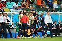 Netherlands team group, <br /> JUNE 13, 2014 - Football /Soccer : <br /> 2014 FIFA World Cup Brazil <br /> Group Match -Group B- <br /> between Spain 1-5 Netherlands <br /> at Arena Fonte Nova, Salvador, Brazil. <br /> (Photo by YUTAKA/AFLO SPORT) [1040]