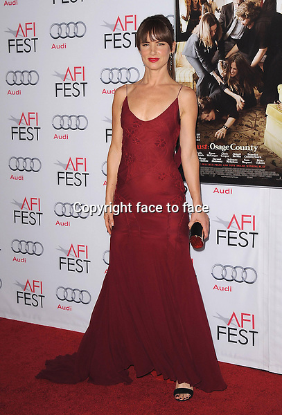 HOLLYWOOD, CA - NOVEMBER 8:  Juliette Lewis arrives at the 2013 AFI Fest - &quot;August: Osage County&quot; gala screening at TCL Chinese Theatre on November 8, 2013 in Hollywood, California. <br />