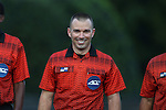 10 September 2016: Referee Chris Penso. The Wake Forest University Demon Deacons hosted the University of Virginia Cavaliers in a 2016 NCAA Division I Men's Soccer match. Wake Forest won the game 1-0 in sudden death overtime.