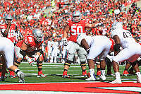 The Ohio State University Football team defeat the University of Maryland 49-28, Columbus, OH. September10, 2015