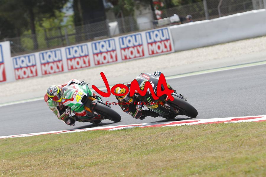 Johann Zarco (FRA) Monster Yamaha tech3, Moto GP, Free practice, Gran Premi Monster Energy de Catalunya
