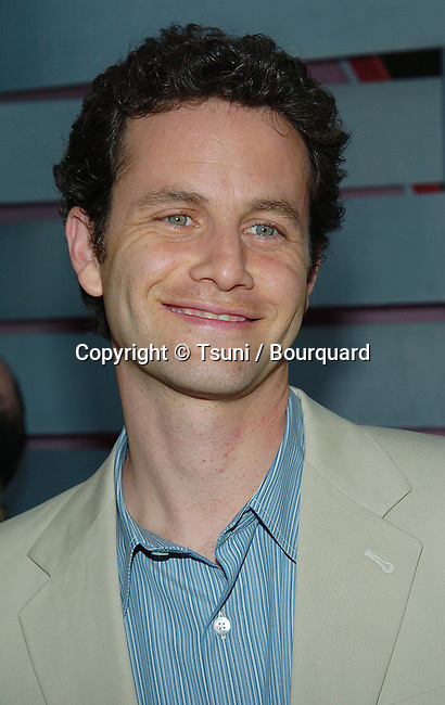 Kirk Cameron (Growing Pains Movie) arriving at the ABC ALL STAR PARTY FOR THE NEW FALL SEASON - 2004  at the Century Plaza Hotel in Los Angeles. July 13, 2004.