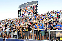 17 September 2011:  FIU's fans cheer for their team as the FIU Golden Panthers defeated the University of Central Florida Golden Knights, 17-10, at FIU Stadium in Miami, Florida.