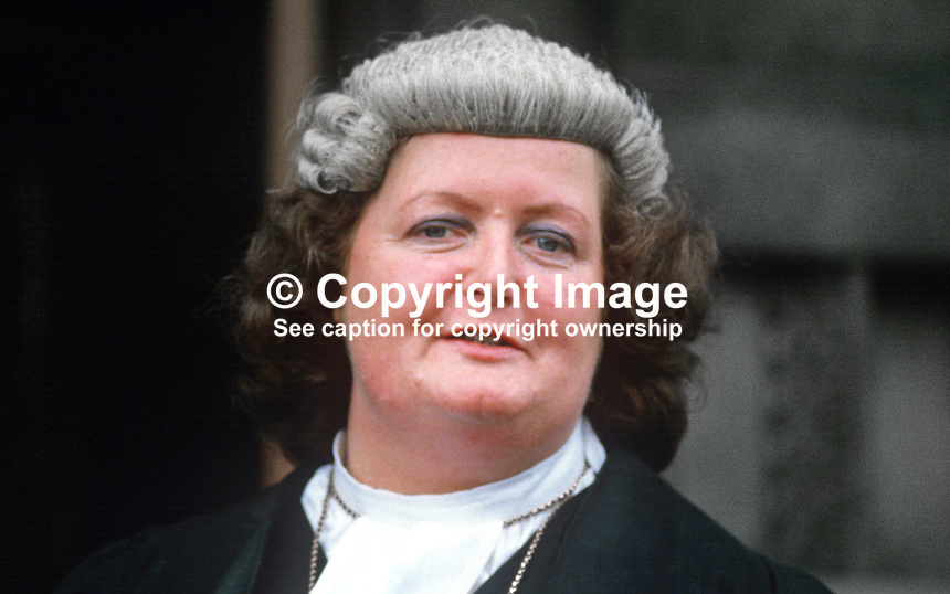 Anne Marie Therese Dunne, barrister, Rep of Ireland, on the occasion of his being called to the N Ireland Bar. 19840084AMTD.<br /> <br /> Copyright Image from Victor Patterson, 54 Dorchester Park, Belfast, UK, BT9 6RJ<br /> <br /> t1: +44 28 9066 1296 (from Rep of Ireland 048 9066 1296)<br /> t2: +44 28 9002 2446 (from Rep of Ireland 048 9002 2446)<br /> m: +44 7802 353836<br /> <br /> e1: victorpatterson@me.com<br /> e2: victorpatterson@gmail.com<br /> <br /> The use of my copyright images is subject to my Terms &amp; Conditions.<br /> <br /> It is IMPORTANT that you familiarise yourself with them. They are available on my website at www.victorpatterson.com.<br /> <br /> None of my copyright images may be used on a website unless they are visibly watermarked, i.e. &copy; Victor Patterson within the body of the visible image. Metadata denoting my copyright must NOT be deleted. <br /> <br /> Web use is extra at currently recommended NUJ rates.