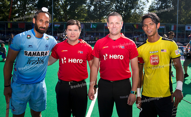 01/07/2015<br /> HWL Semi Final Antwerp Belgium 2015<br /> India v Malaysia Men<br /> <br /> Photo: Grant Treeby