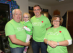 25/10/2014.   Munster Rugby's Tommy O'Donnell an ambassador of iCAN (Irish Childrens Arthritis Network)photographed on Saturday in Kids Town, Gillogue with Ray, Katie(6) and Jackie Connolly.<br /> Picture: Liam Burke/Press 22