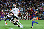 UEFA Champions League, Spain, Camp Nou, FC Barcelona v Viktoria Plzen. Picture show Pedro