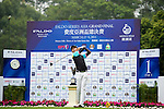 Koravit Kwok of Thailand tees off on the 1st hole during the Round 1 of the Faldo Series Asia Grand Final at Mission Hills on March 2, 2011 in Shenzhen, China. Photo by Raf Sanchez / Faldo Series