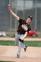 January 17, 2010:  TJ Looney (Canyon, TX) of the Baseball Factory Mountain Team during the 2010 Under Armour Pre-Season All-America Tournament at Kino Sports Complex in Tucson, AZ.  Photo By Mike Janes/Four Seam Images