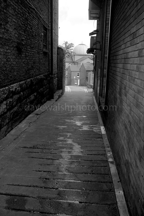 Schoolhouse Lane, off Dublin's High St.