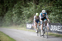 Zak Dempster (AUS/Israel Cycling Academy) & Timothy Dupont (BEL/Wanty - Gobert)<br /> <br /> Dwars door het Hageland 2019 (1.1)<br /> 1 day race from Aarschot to Diest (BEL/204km)<br /> <br /> ©kramon