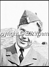 BNPS.co.uk (01202 558833)Pic: ErikWieman/BNPS<br /> <br /> Leading Aircraftman F. Kristensen, who was a passenger on an airliner shot down during World War Two.<br /> <br /> The wreckage of an airliner which was shot down during World War Two killing all 23 people on board has been found in a German field 74 years later.<br /> <br /> Dakota KG653 was carrying 20 Canadians, one Australians and two Brits, RAF personnel Flying Officer Alfred Veary and Flight Lieutenant Ralph Korer, when it departed from RAF Pershore in Worcestershire at 3.30am on September 24, 1944.<br /> <br /> The plane, destined for Karachi, was blown off course in a storm and shot down by the Germans near Neuleiningen, 50 miles south of Frankfurt, in east Germany.<br /> <br /> Its exact whereabouts remained a mystery for over seven decades but now Dutch historian Erik Wieman, who travels the world to locate lost aircraft, has discovered the plane's wreckage in a corn field.