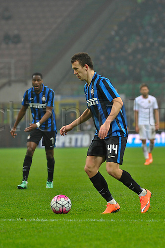 06.03.2016. Milan, Italy.  Ivan Perisic of FC Inter in action during the Italian Serie A League soccer match between Inter Milan and US città Palermo at San Siro Stadium in Milan, Italy.