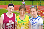 Brenda Foley Listowel, Louise Dineen Gneeveguilla and Louise O'Connor Tralee Harriers at the Kerry Athletic Championships in Castleisland on Sunday   Copyright Kerry's Eye 2008