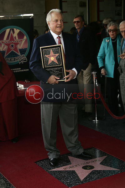 Robert Osborne<br />at the ceremony honoring him with a star on the Hollywood Walk of Fame. Hollywood Boulevard, Hollywood, CA. 02-01-06<br />Dave Edwards/DailyCeleb.com 818-249-4998