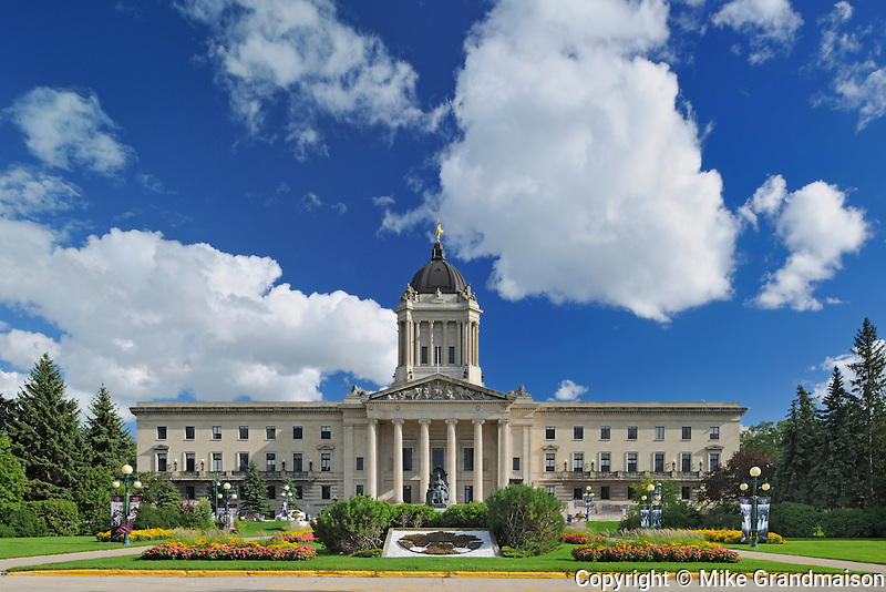 Manitoba Legislature<br /> Winnipeg<br /> Manitoba<br /> Canada