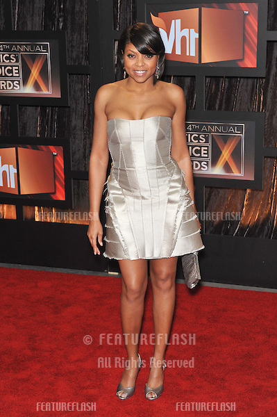 Taraji P. Henson at the 14th Annual Critics' Choice Awards at Santa Monica Civic Auditorium..January 8, 2009  Santa Monica, CA.Picture: Paul Smith / Featureflash