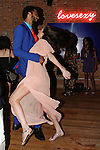 Guests dancing during the inaugural Wear New York Fashion Week presentation at 393 Broadway on June 27, 2013.