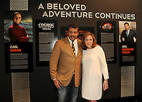 BEVERLY HILLS, CA - AUGUST 3: Ann Druyan and Neil DeGrasse Tyson attend the Fox And National Geographic Channel Presents A Screening Of 'Cosmos: A Spacetime Odyssey' at The Paley Center for Media on August 3, 2014 in Beverly Hills, California. PGFM/Starlitepics