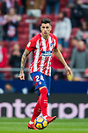 Jose Maria Gimenez de Vargas of Atletico de Madrid in action during the La Liga 2017-18 match between Atletico de Madrid and Girona FC at Wanda Metropolitano on 20 January 2018 in Madrid, Spain. Photo by Diego Gonzalez / Power Sport Images