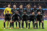 Players of Chelsea FC line up and pose for a photo prior to the UEFA Champions League 2017-18 match between Atletico de Madrid and Chelsea FC at the Wanda Metropolitano on 27 September 2017, in Madrid, Spain. Photo by Diego Gonzalez / Power Sport Images