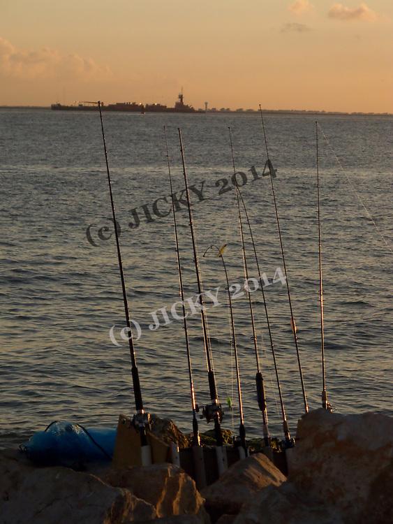 Fishing rods....