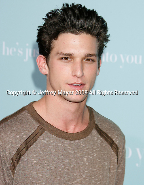 "HOLLYWOOD, CA. - February 02: Actor Daren Kagasoff arrives at the Los Angeles Premiere of ""He's Just Not That Into You"" held at the Grauman's Chinese Theatre on February 2, 2009 in Los Angeles, California."