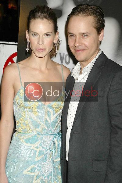 Hilary Swank and Chad Lowe