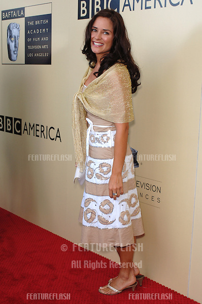 Actress TANYA MEMME at the BAFTA/LA & Academy of TV Arts & Sciences 3rd Annual Tea Party honoring Emmy nominees..September 17, 2005  Los Angeles, CA..© 2005 Paul Smith / Featureflash