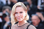 Cannes Film Festival 2017 - Day 7.  Red Carpet for the Anniversary of the  the 70th edition of the 'Festival International du Film de Cannes' on 23/05/2017 in Cannes, France. The film festival runs from 17 to 28 May. Pictured : Charlize Theron