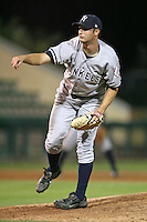 April 11, 2009:  Pitcher Charles Nolte of the Tampa Yankees, Florida State League Single-A affiliate of the New York Yankees, during a game at Joker Marchant Stadium in Lakeland, FL.  Photo by:  Mike Janes/Four Seam Images