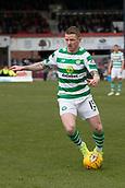 17th March 2019, Dens Park, Dundee, Scotland; Ladbrokes Premiership football, Dundee versus Celtic; Jonathan Hayes of Celtic