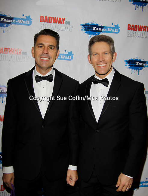 Kevin Beckner and friend - New Year's Eve 2016 and Times Square Ball Drop at The Copacabana, New York City, New York. (Photo by Sue Coflin/Max Photos)  suemax13@optonline.net