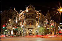 Said to be haunted, the Driskill Hotel sits on the corner of 6th Street and Brazos and is listed amon the Historic Hotels of America. This great stay in the heart of downtown Austin, Texas, is an icon, and puts you in reach of so much activity in this lively town.