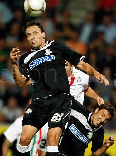 19.08.2010 Europa League SK Sturm Graz v Juventus Play Off for qualification. Picture shows Gordon Schildenstein field and Joachim festival Sturm Graz