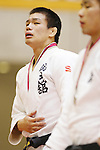 Seidai Sato, September 14, 2014 - Judo : All Japan Junior Judo Championships Men's -81kg victory ceremony at Saitama Prefectural Budokan, Saitama, Japan. (Photo by Yusuke Nakanishi/AFLO SPORT) [1090]