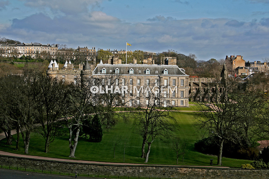 Edifício do Holyrood palace. Edimburgo, Escócia.2007. Foto de Marcio Nel Cimatti.