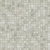Gridded 3 cm, a hand-cut stone mosaic, shown in polished Socorro Grey.
