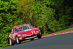 Scott Leach crests Clay Hill at Oulton Park