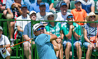 Kurt Kitayama (USA) on the 1st tee during the first round at the Nedbank Golf Challenge hosted by Gary Player,  Gary Player country Club, Sun City, Rustenburg, South Africa. 14/11/2019 <br /> Picture: Golffile | Tyrone Winfield<br /> <br /> <br /> All photo usage must carry mandatory copyright credit (© Golffile | Tyrone Winfield)