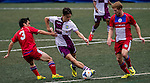 Aston Villa vs Yau Yee League Select during the Day 2 of the HKFC Citibank Soccer Sevens 2014 on May 24, 2014 at the Hong Kong Football Club in Hong Kong, China. Photo by Victor Fraile / Power Sport Images