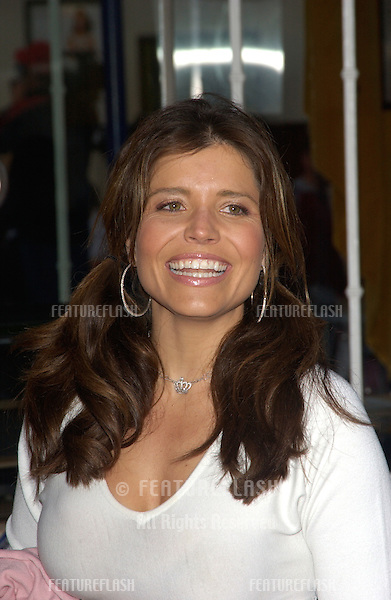 TV presenter MINDY BIRBANO at the Los Angeles premiere of 13 Going on 30..April 14, 2004